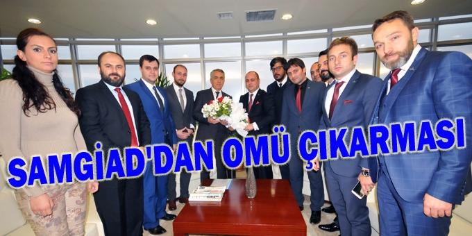 Başkan Gömeç: OMÜ ile proje ve çalışmalarda işbirliği içinde olacağız