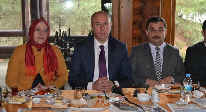 Başkan Hasan Togar basınla biraraya geldi