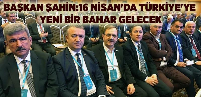 Başkan Şahin: Evet ile Türkiye tüm zincirlerini tamamen kıracaktır