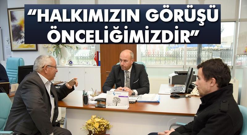 Başkan Togar: 'Halkımızın görüşü önceliğimizdir'