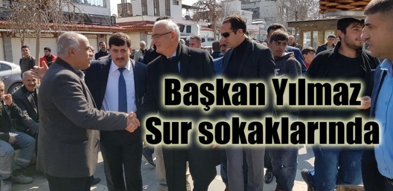 Başkan Yılmaz Diyarbakır'da