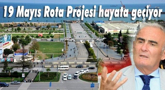 Başkan Yusuf Ziya Yılmaz, 19 Mayıs Rota Projesi hakkında bilgi verdi