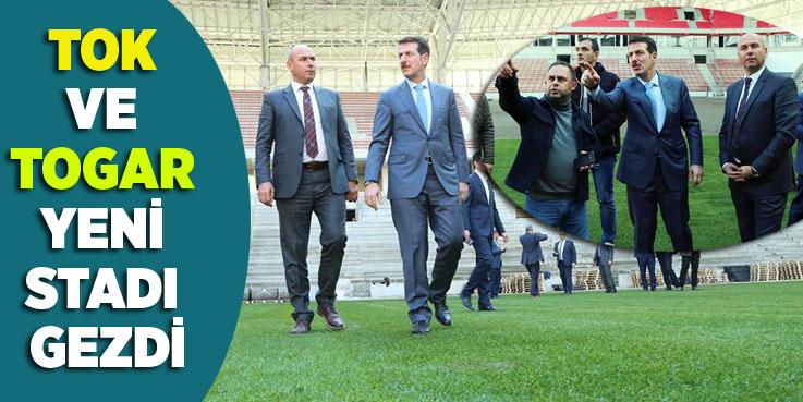 Başkanlardan yeni Stadyuma tam not