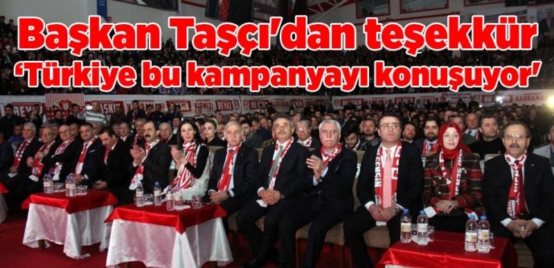 Bu Aşkın Kahramanı Sensin kampanyası Türkiye gündeminde