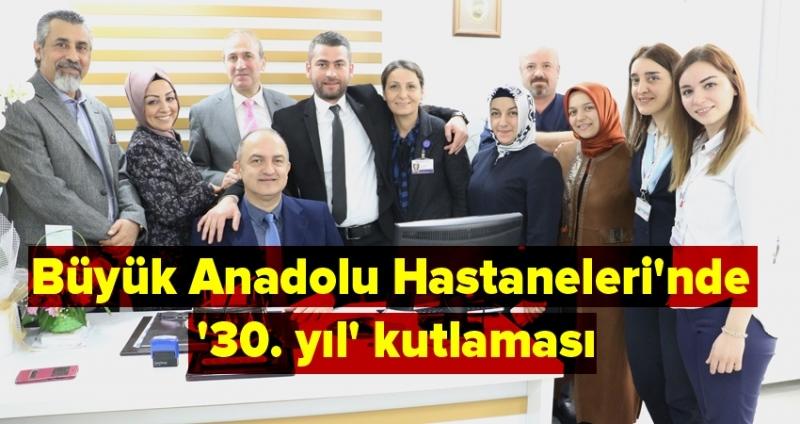 Büyük Anadolu Hastaneleri'nde Tıp Bayramı'nda anlamlı sürpriz