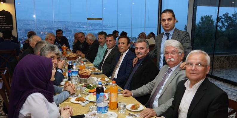 Canik Belediyesi'nden basın mensuplarına iftar