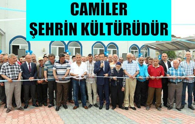 Canik'te 50 Camii'nin çevresi yenilendi
