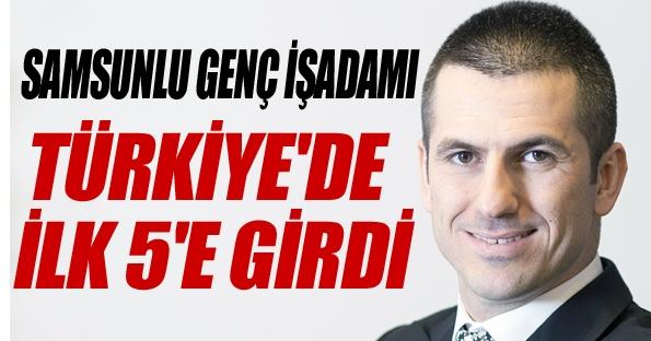 Günhan Ulusoy Türkiye'nin 5. önemli kişisi oldu