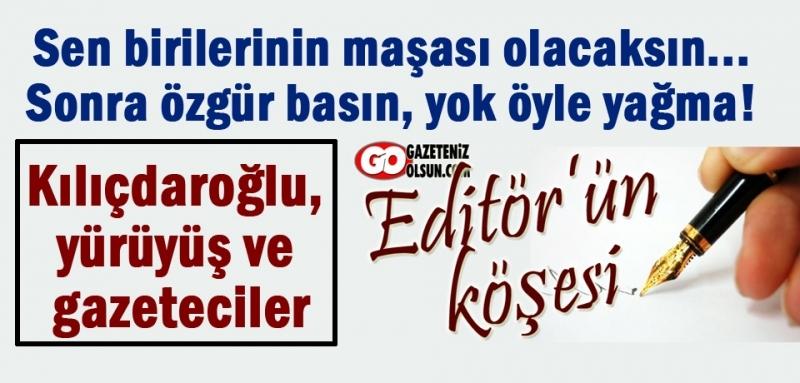 İşini düzgün ve doğru yapan gazeteci cezaevinde olmaz!