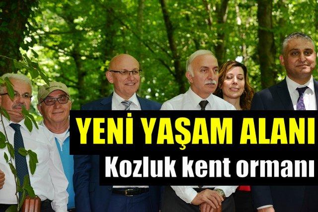 Kozluk kent ormanı Samsun'a değer katacak