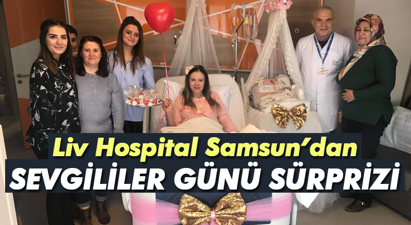 Liv Hospital'dan Sevgililer Günü sürprizi