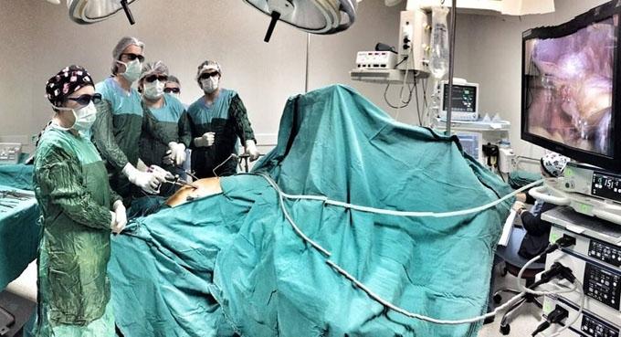 Medical Park'ta laparoskopik ameliyatlarda ileri teknoloji