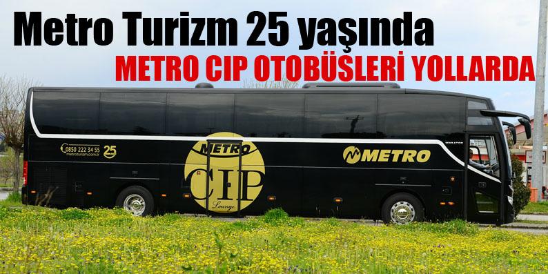 Metro CIP'le Samsun-Ankara arası 4.5 saate iniyor
