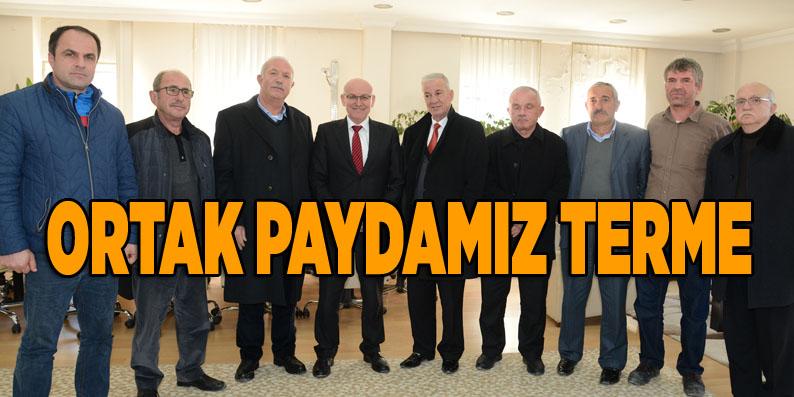 MHP'li Şahin'den Başkan Kul'a ziyaret