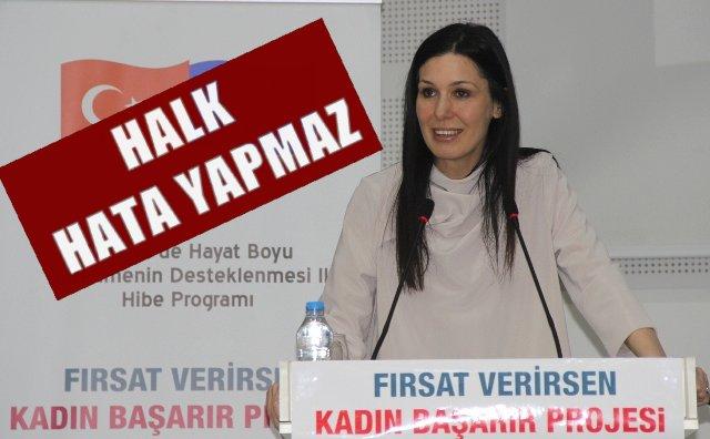 Milletvekili Karaaslan:Halkımız Hata Yapmaz