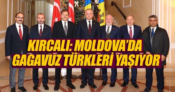 Milletvekili Kırcalı Moldova ve Makedonya'da