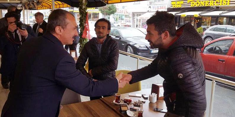 Milletvekili Kırcalı Atakum'da yeni anayasayı anlattı