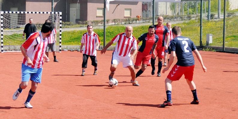 OMÜ Personeli Futbol Turnuvası Başladı