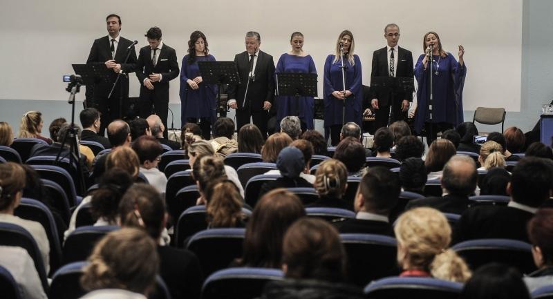 OMÜ'de sağlık çalışanlarına konser