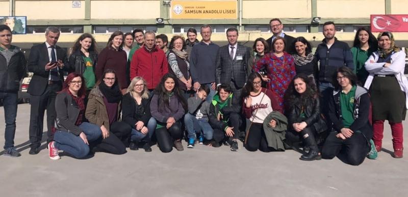 Samsun Anadolu Lisesi'nden Mültecilerin Entegrasyonu Projesi