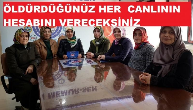 Samsun Memur-Sen Kadınlar Komisyonu'ndan basın açıklaması