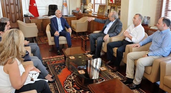 Samsun Rotary Kulübü'nden Başkan Yılmaz'a ziyaret