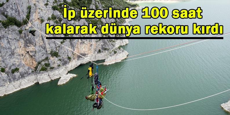 Samsun'da dünya rekoru kırıldı