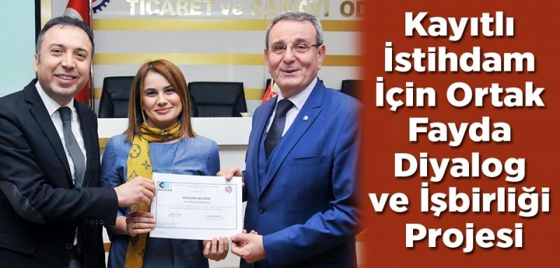 Samsun'da girişimciler sertifikalarını aldı