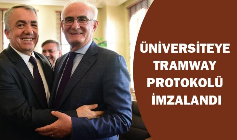 Samsun'da raylı sistem ağı genişlemeye devam ediyor