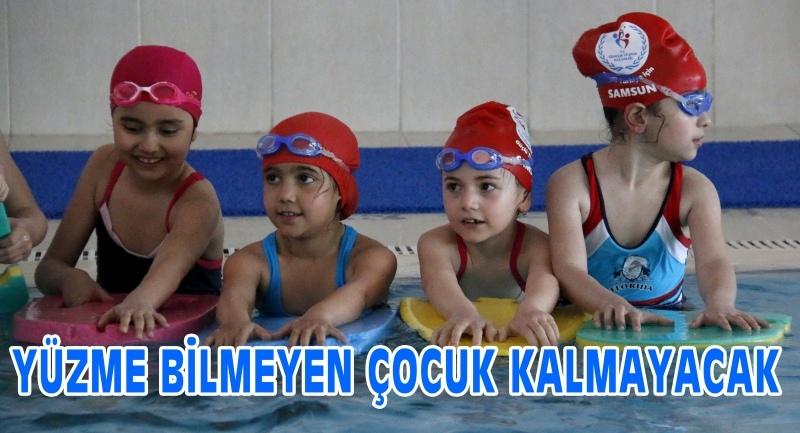 Samsun'da yüzme bilmeyen çocuk kalmayacak