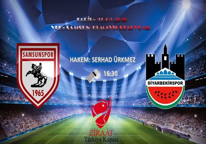 Samsunspor Diyarbekirspor'ı konuk ediyor, maç 16:30'da başlıyor