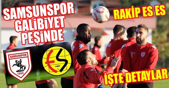 Samsunspor Eskişehirspor maçı ne zaman, saat kaçta, hangi kanalda?