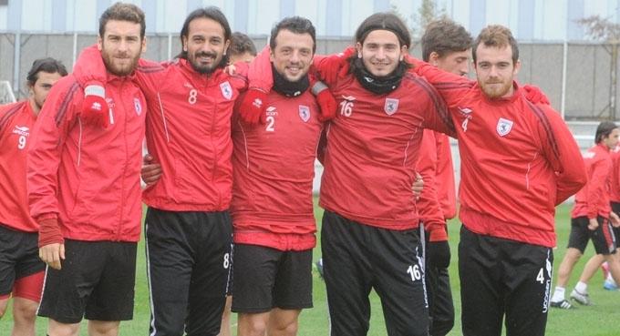 Samsunspor'da Manisaspor maçı hazırlıkları başladı