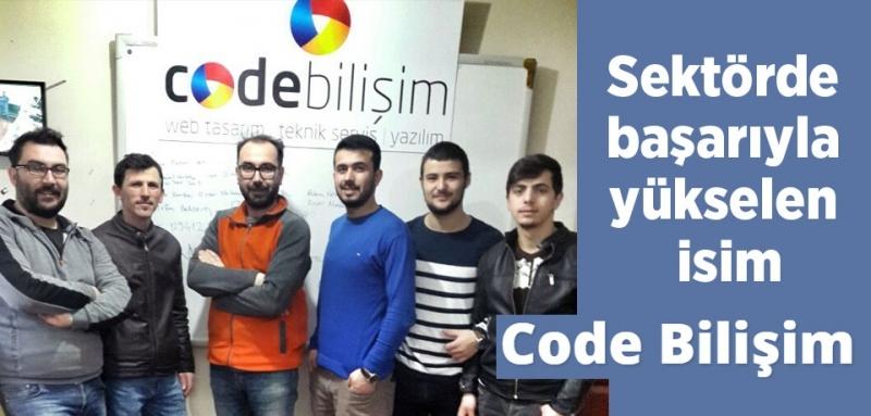 Sektörde başarıyla yükselen isim Code Bilişim