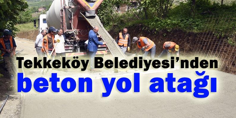 Tekkeköy ilçesi beton ağlarla örülüyor!