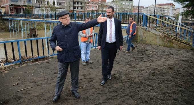Terme Belediyesi selin yaralarını sarıyor