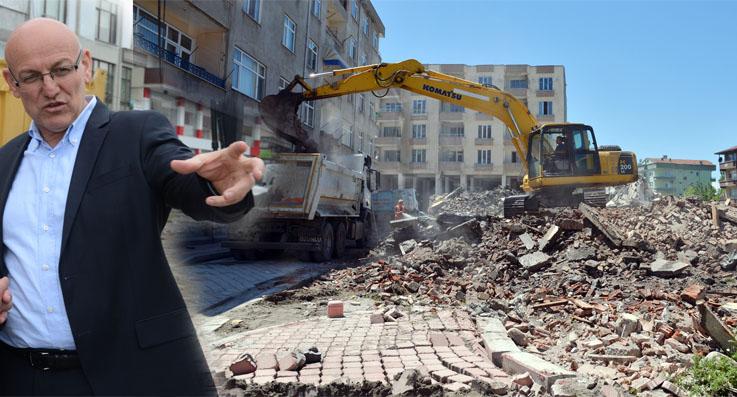 Terme metruk yapılıyor tek tek yıkılıyor