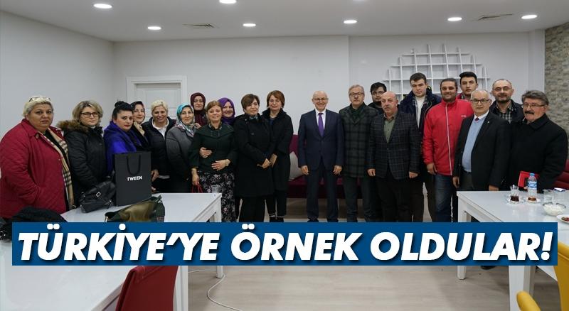 Terme, Türkiye'ye örnek oldu!