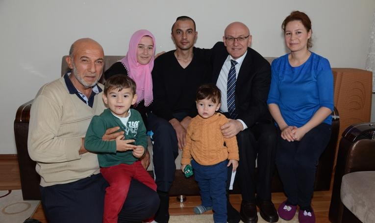 Termeli Gazi'ye Başkan Kul'dan ziyaret