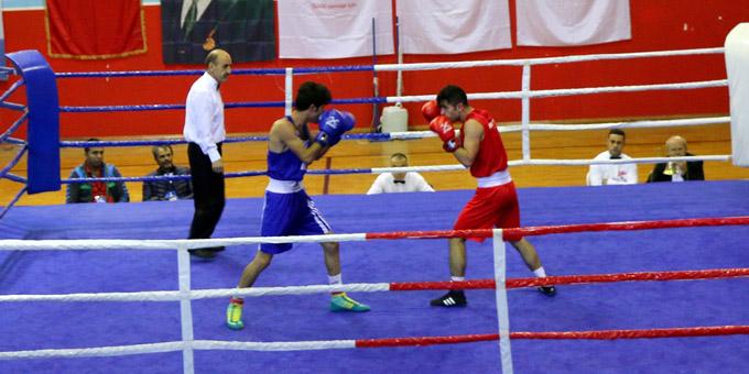 Türkiye boks şampiyonsı 2. grup maçları tamamlandı