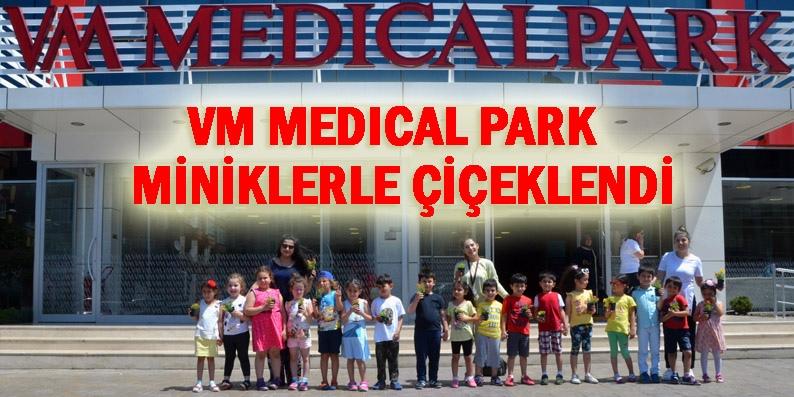 VM Medical Park minik ellerle renklendi!