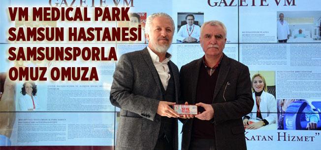 VM Medical Park Samsun Hastanesi Samsunspor'dan 5 bin bilet aldı