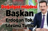 Anadolu ve Zeytinlik Mahallelerine Doğalgaz Müjdesi