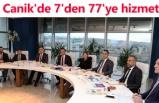 Canik'de 7'den 77'ye hizmet