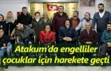 Atakum'da engellilerden örnek davranış