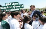 BM'den Başkan Genç'e teşekkür
