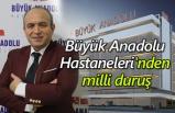 Büyük Anadolu Hastaneleri enflasyonla topyekün mücadelede Samsunluların yanında!