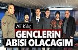Terme Belediye Başkan Adayı Ali Kılıç: Gençlerin Abisi Olacağım