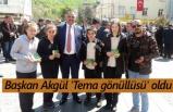 Başkan Akgül 'Tema gönüllüsü' oldu