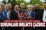 Başkan Demir, Sorunları Birlikte Çözeriz